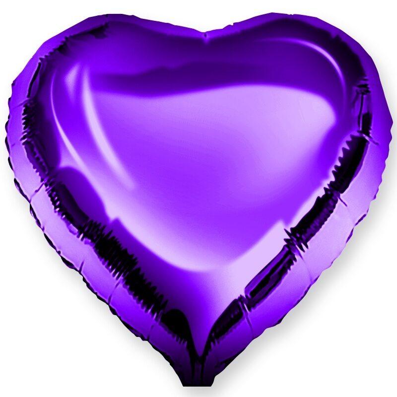 Картинки фиолетовое сердечко